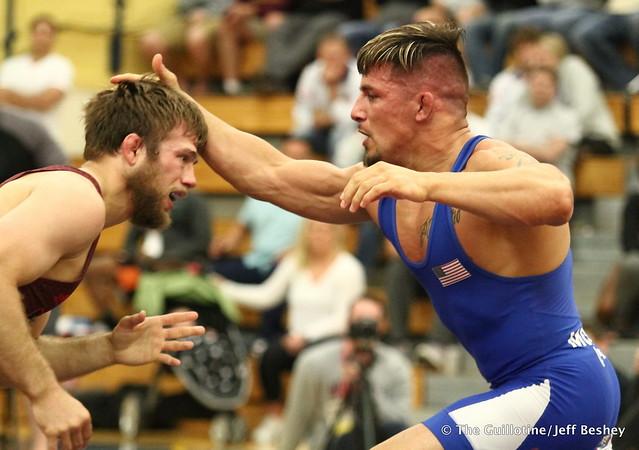 70kg: Jason Chamberlain (Titan Mercury) vs Frank Molinaro (Titan Mercury). 180520AJF0683