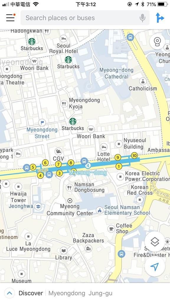 KOREA Map 3