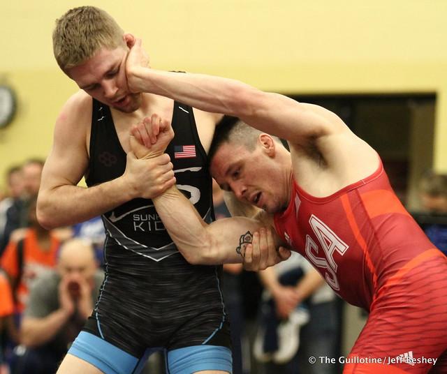 61  Jon Morrison (NYAC) VPO1 Seth Gross (Sunkist Kids Wrestling Club), 10-4. 180519CJF0043