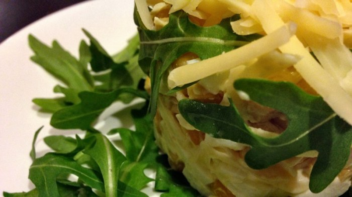 Просто, но вкусно: салат Одуванчик