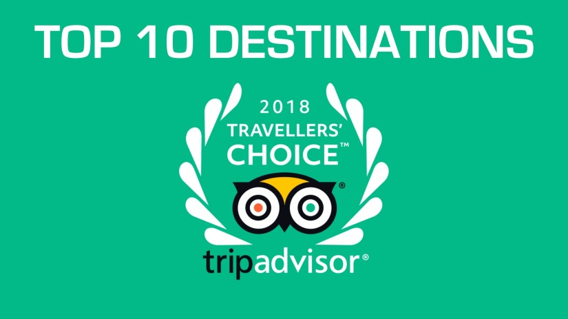 TripAdvisor Traveller's Choice® Awards 2018 For Destinations