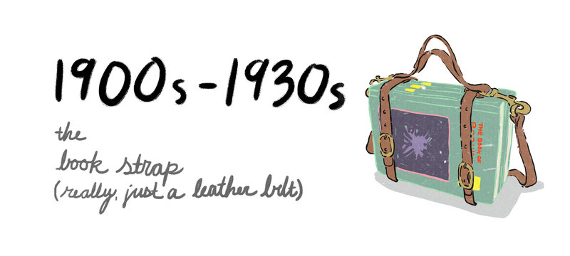 後背包 Backpack 演進史 - 傳統書包
