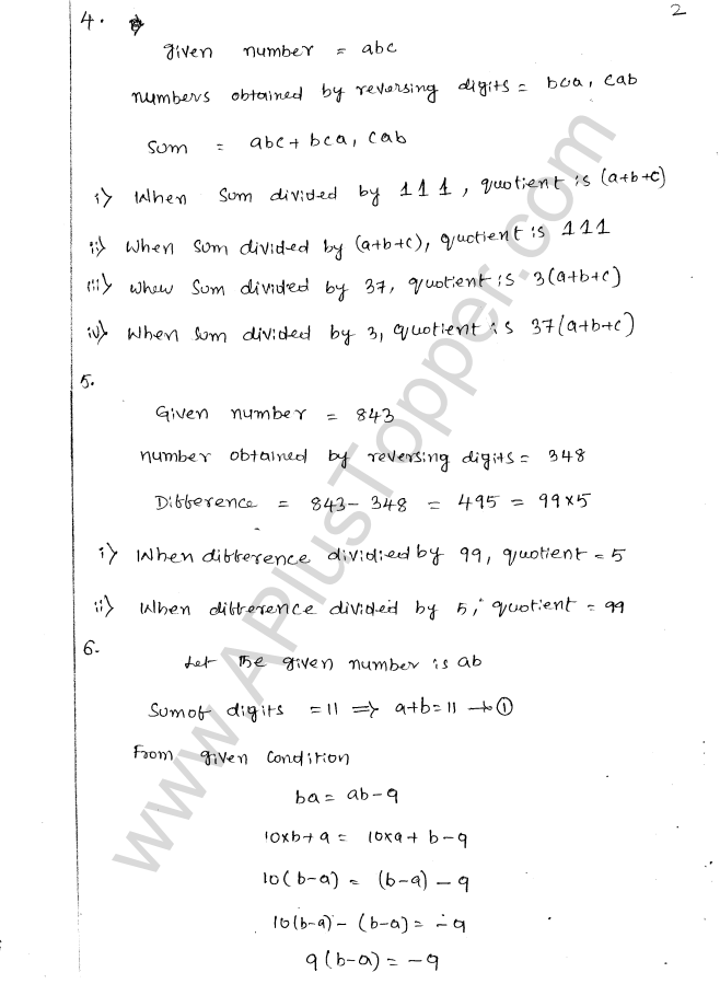 ML Aggarwal ICSE Solutions for Class 8 Maths Chapter 5 Playing with