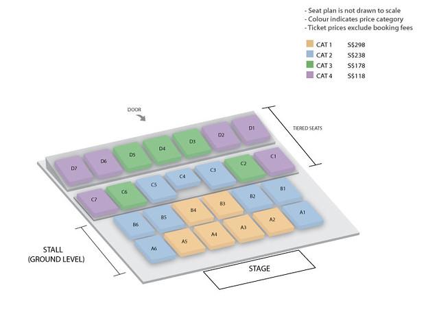 hwang chiyeul 2018 seating plan