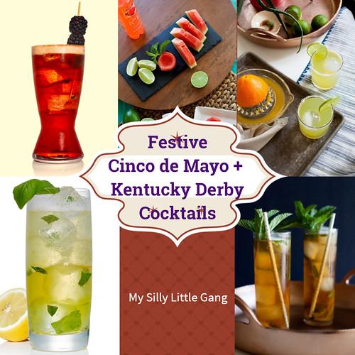 Festive Cinco de Mayo + Kentucky Derby Cocktails