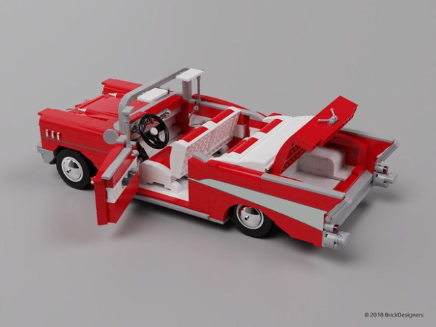 Lego Chevy Bel Air 1957