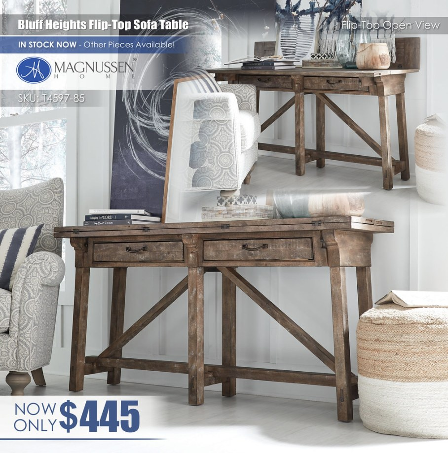 Bluff Heights Flip Top Sofa Table_T4597_85_VIN