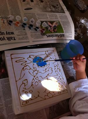 Dino-Batik-Painting-Kit