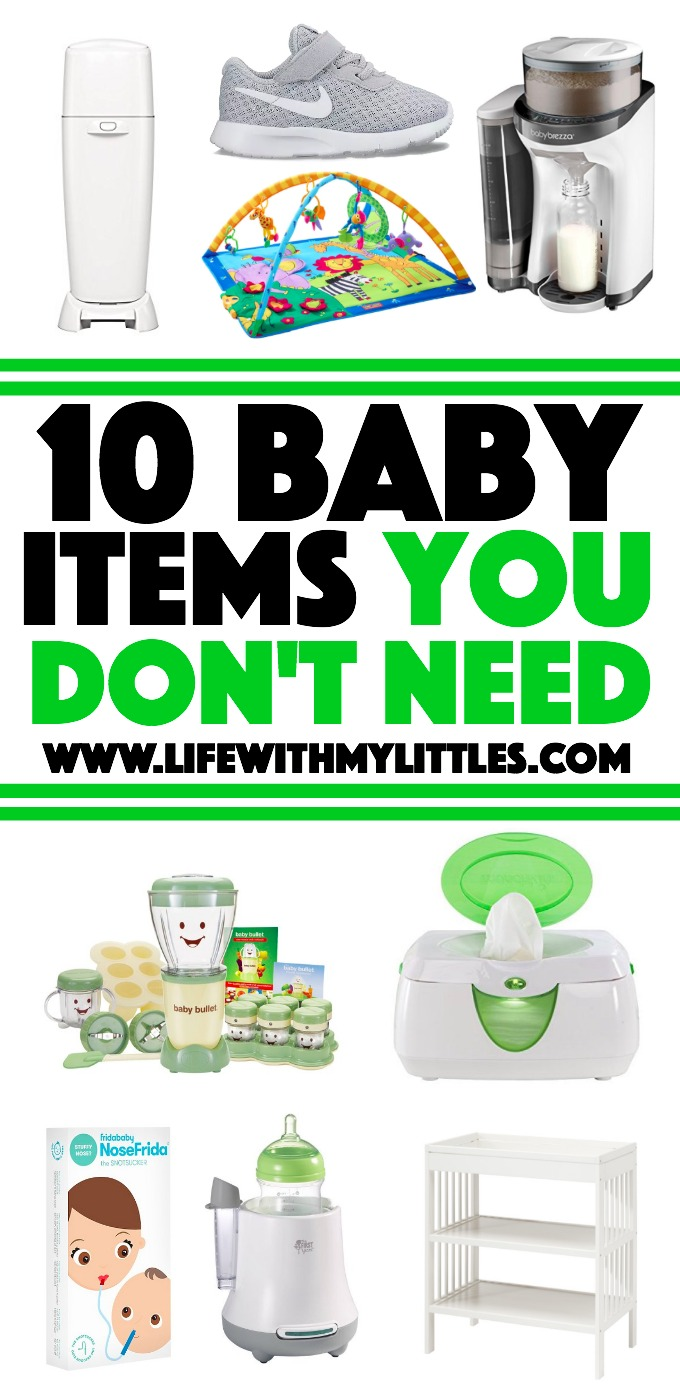 10 Baby Items You Don't Need - Life With My Littles