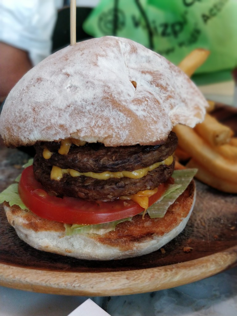 Corner Kitchen Cafe Sheung Wan Hong Kong Bean Burger
