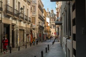 Ik liep weer terug door de Calle San Jerónimo.