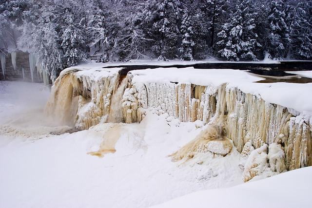 Upper Tahquamenon FallsWinter  Flickr  Photo Sharing