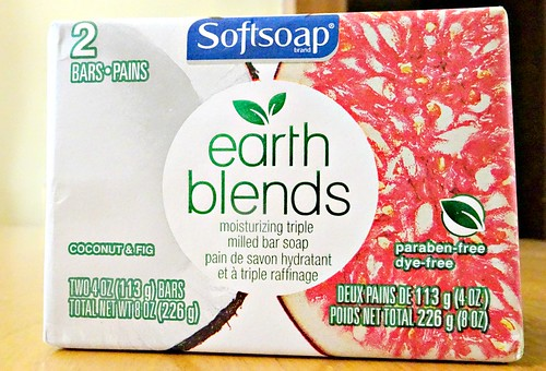 Check out the NEW Softsoap Earth Blends Line