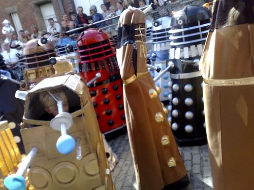 Daleks everywhere!