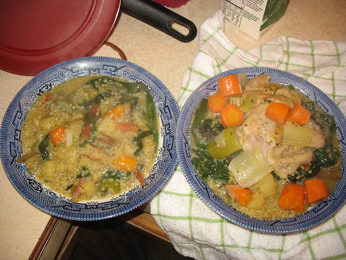 Chicken-Vegetable-Starch Soup