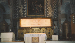 The Museum of the Holy Shroud, Turin, Italy.