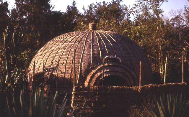 Portable market hut, Mbabane, Swaziland