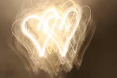 Exploring the light: hearts