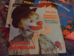 45 giri: Sandra Mondaini - Sbirulino - Rabarba...