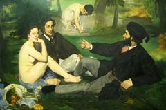 Paris - Musée d'Orsay - Manet's Le déjeuner su...