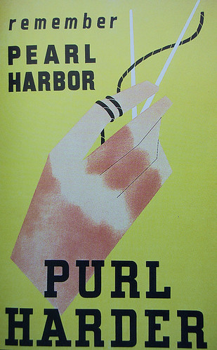 WW2 Poster Pearl Harbor Purl Harder