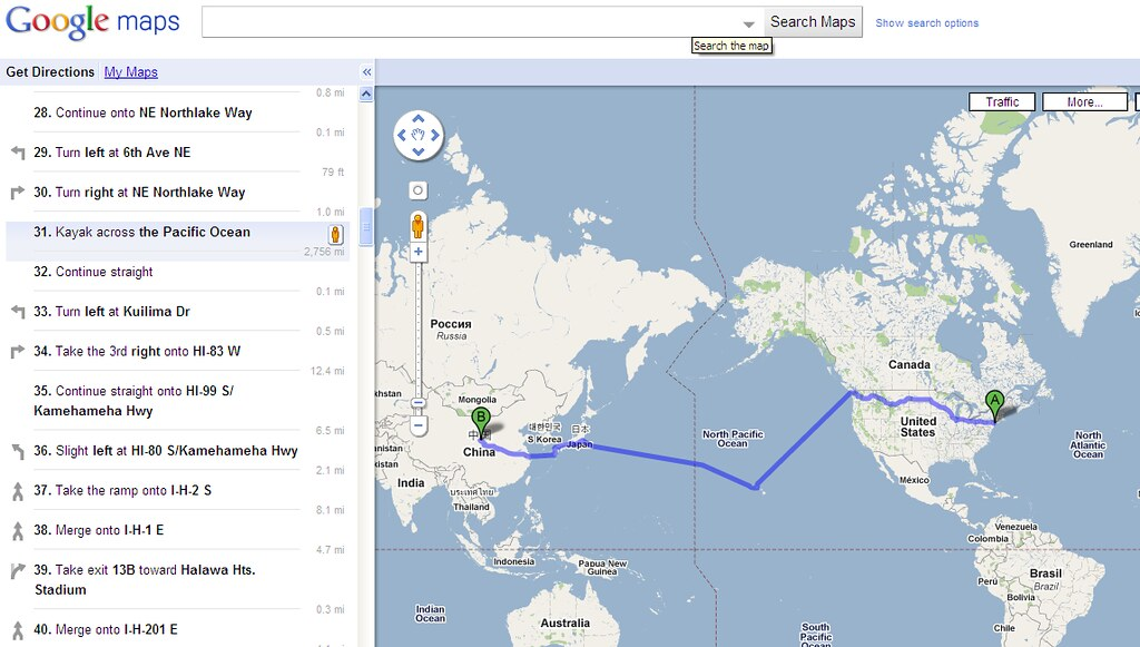 Google Maps Weird Funny Directions Mnghuacom - Weird maps of the us