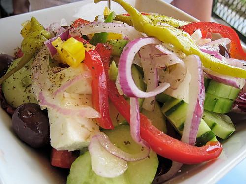 Χωριάτικη σαλάτα στου by Titanas, on Flickr