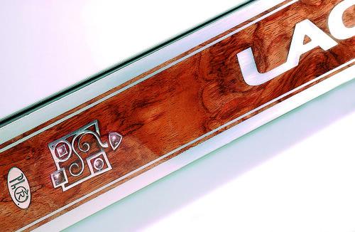 Lacroix Ultime PT Skis, Diamonds, close-up detail
