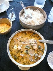 Duane's Thai Eggplant and Chicken Curry