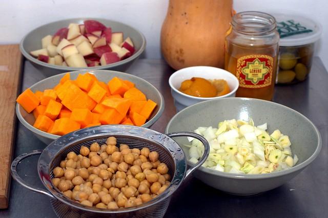 chickpea squash stew mise