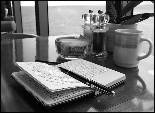 Moleskine at Sea (by StarbuckGuy)