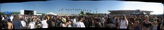 "Huge crowd panoramic during ""Coheed and Cambria"""
