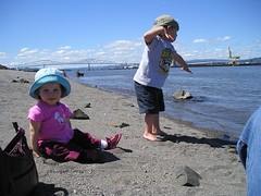 lola & charlie river bank