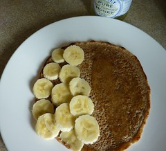 oatcake banana honey