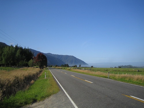 New Zealand - south of Punakaiki