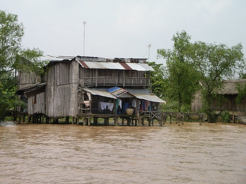 House along the Mekong