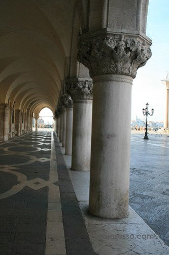 Columns at the Doge's Palace