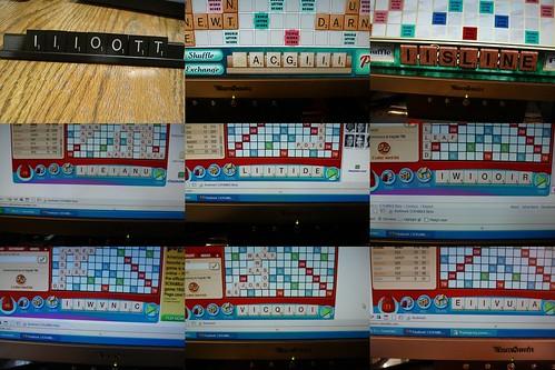 Scrabble trays