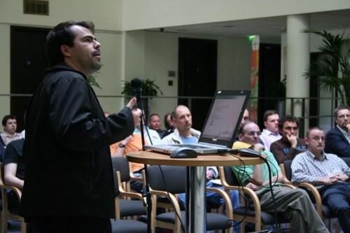 Mozilla's Marcio Galli speaking at it@cork