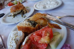 A Platanos Taverna lunch in Athens