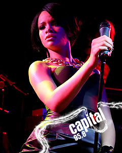 Capital 95.8 - Exclusive Live Gig with Rihanna by Capital Radio.