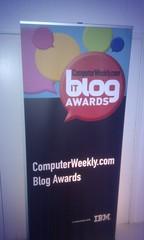 Computer Weekly - Blog of the year award
