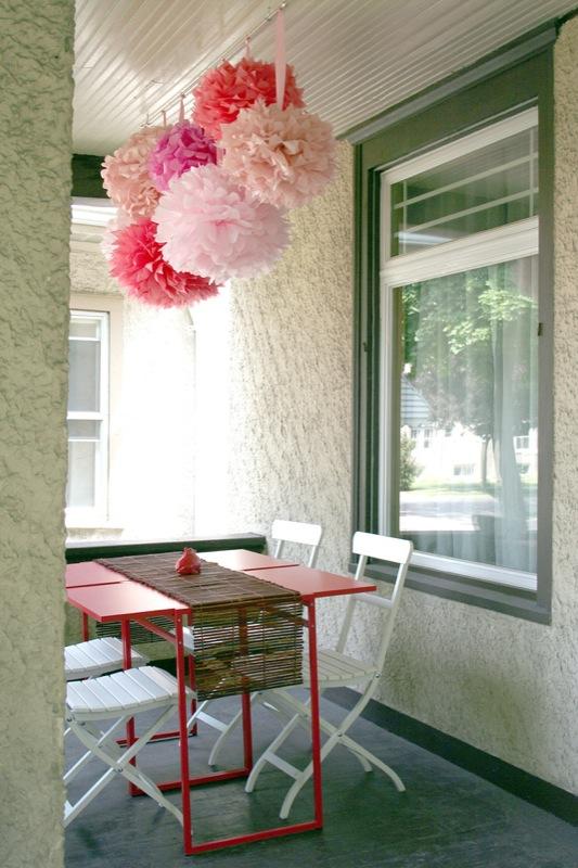 Paper Table (+ Nicole's Amazing Front Porch)
