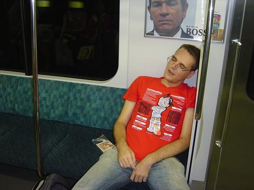 Spaniard sleeping