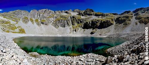 Ibon del Sen, 2365 metros de altitud