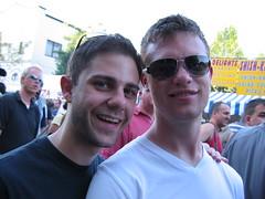 Ian and Adam looking cool