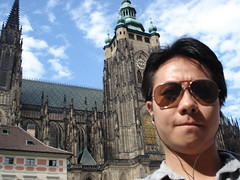 Me, St Vitus Cathedral, Prague