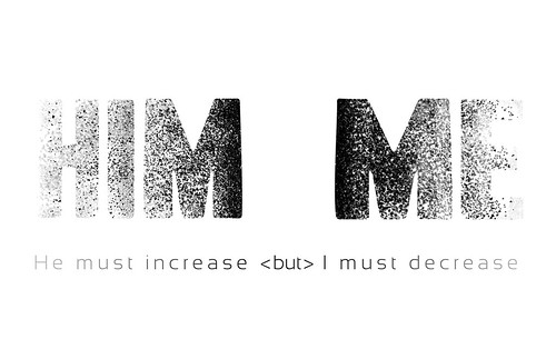 I Must Decrease