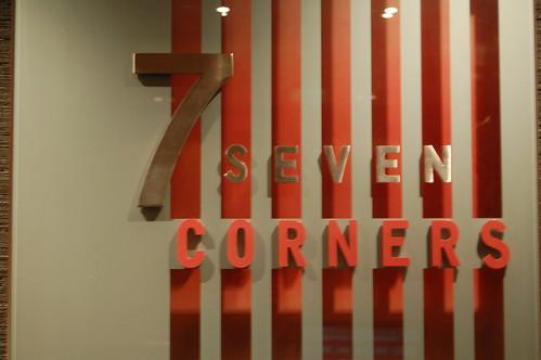 7 corners front door