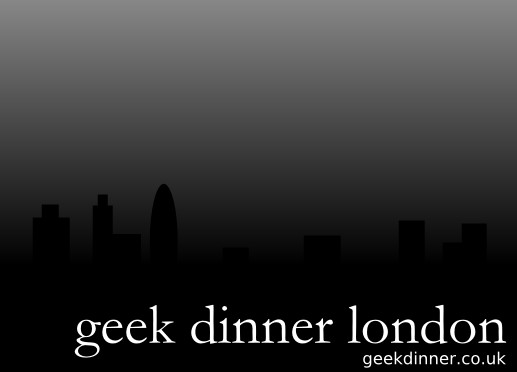 london geekdinner logo medium